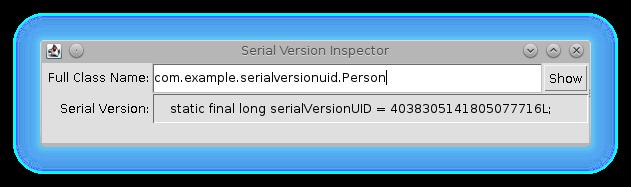 serialver